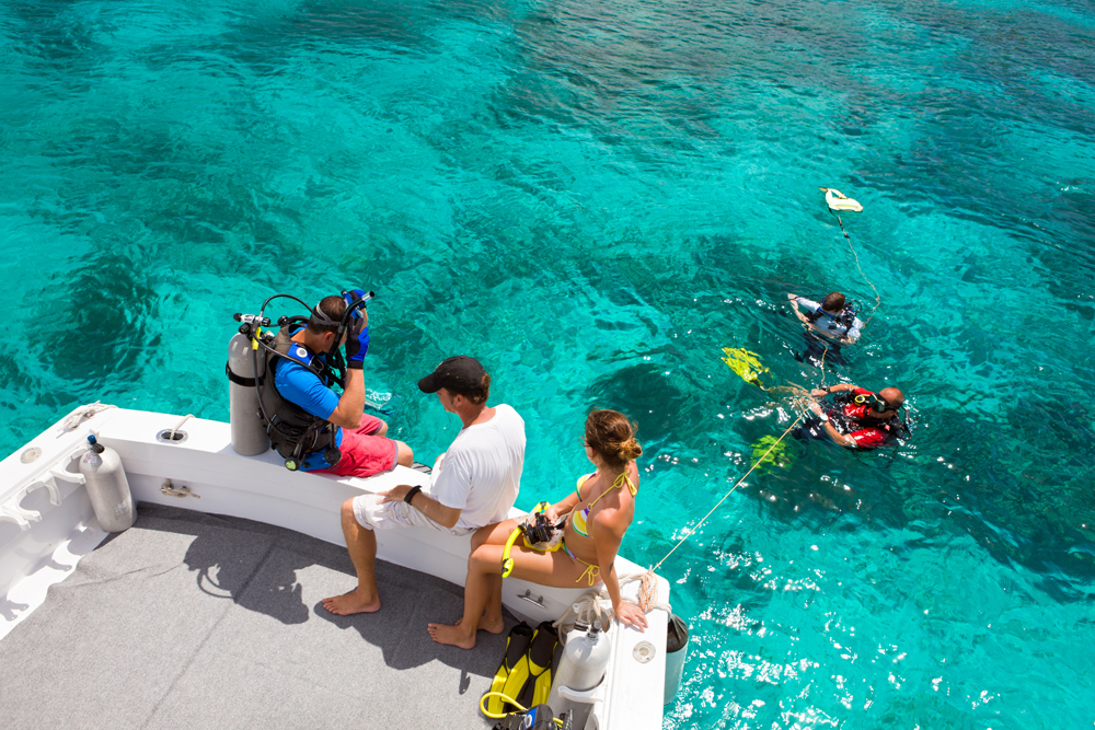 Scuba dive in St. Thomas, St. John Virgin Islands www.patagondivecenter.com